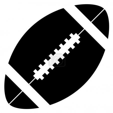 Illustration pour Football américain - illustration pour le web - image libre de droit