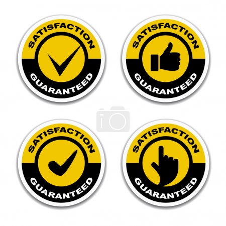 satisfaction guaranteed stickers