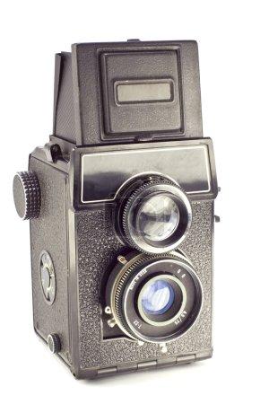 Old russian camera vintage medium format film
