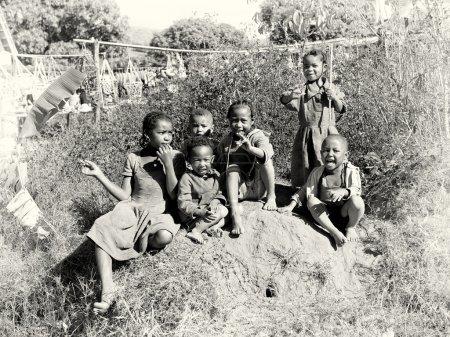 Группа Мадагаскар детей