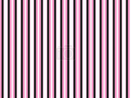 Pink and Black Candy Stripe Background