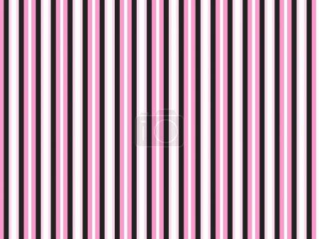 Illustration pour Une belle bande de bonbons rose et fond noir adapté à de nombreuses utilisations . - image libre de droit