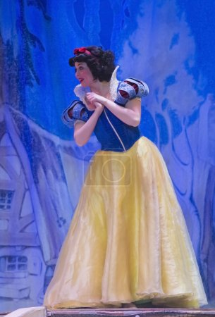 Snow White at the Disney
