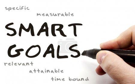 Smart Goals hand written