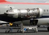 Jet engine repair