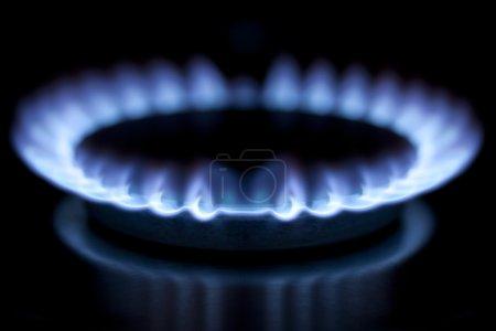 Kitchen gas burner hob