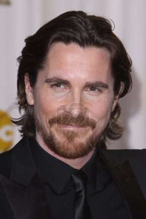 Photo pour LOS ANGELES - 26 février : Christian Bale arrive à la 84e Academy Awards au Hollywood & Highland Center le 26 février 2012 à Los Angeles, CA - image libre de droit