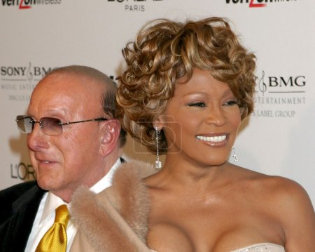 Photo for LOS ANGELES - FEB 10: Clive Davis, Whitney Houston arrives at the Clive Davis Annual Pre-Grammy Party at Beverly Hilton Hotel on February 10, 2007in Beverly Hills, CA - Royalty Free Image