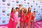 Dance Moms Cast with Justin Bieber