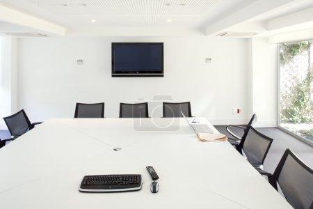 Foto de Interiores de oficina, sala de juntas - Imagen libre de derechos