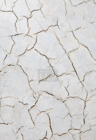 Decorative plaster with cracks