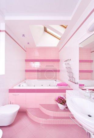 Photo for Modern bathroom - Royalty Free Image