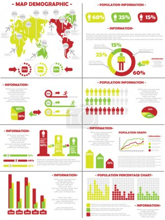 INFOGRAPHIC DEMOGRAPHICS POPULATION 3 SECOND EDITION