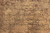 Close up of ancient writing, Polonnaruwa, Sri Lanka