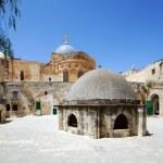 The Church of Holy Sepulcher in Jerusalem...