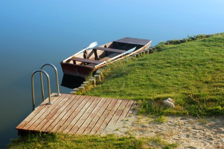 Boats at lake...