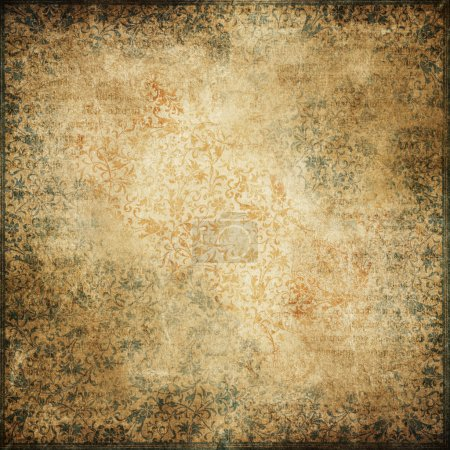 Photo for Vintage background. Ideal for retro/vintage, medieval or fantasy creations. - Royalty Free Image