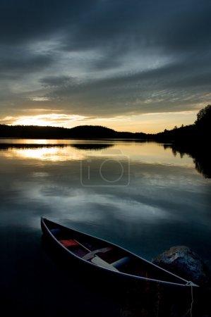 Photo for Blue canoe - Royalty Free Image
