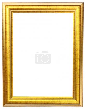 Photo for Gold picture frame - Royalty Free Image