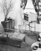 The 1963 General Electric Porta-cart air conditioner