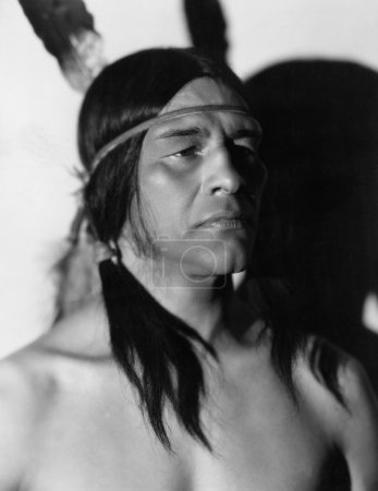 Portrait of Native American man