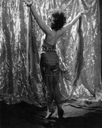 Exotic female dancer