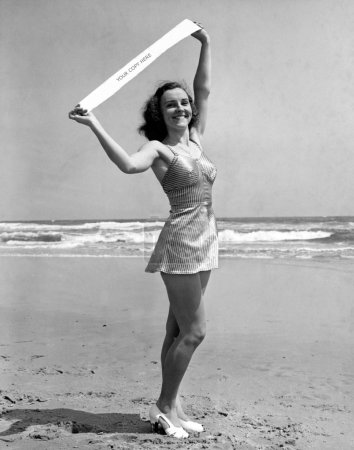 Portrait of Miss Atlantic City 1940