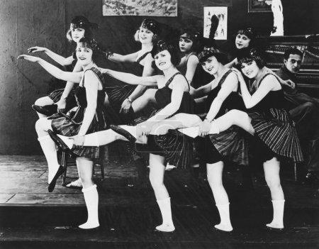 Photo pour Récital de danse - image libre de droit