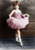 Portrait of young ballerina